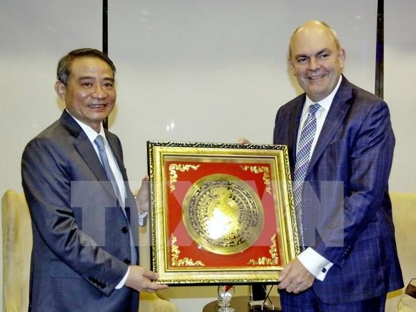 Inauguran primera ruta aerea directa entre Vietnam y Nueva Zelanda hinh anh 1