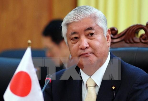 Ministro de Defensa de Japon visita Myanmar hinh anh 1