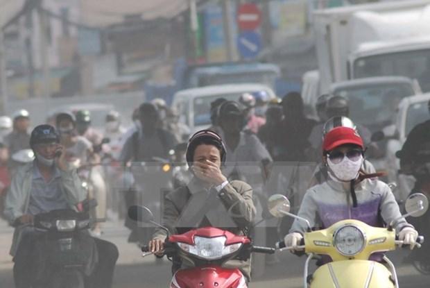 Control de emisiones industriales protagoniza plan vietnamita sobre calidad de aire hinh anh 1