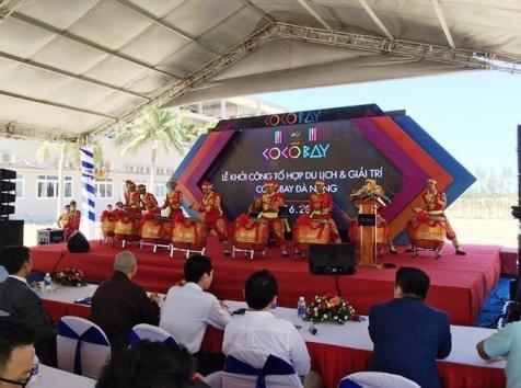 Comienzan en Da Nang construccion de complejo turistico Cocobay hinh anh 1