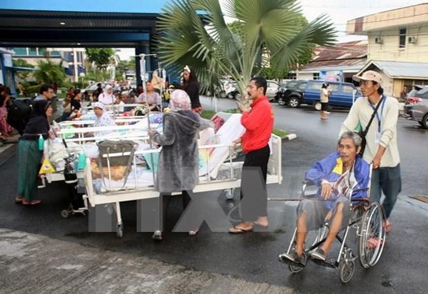 Registran en Indonesia consecutivos terremotos en ultima semana hinh anh 1