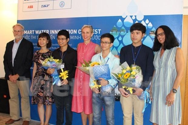 Iniciativa de prevencion de fuga de agua con telefonos inteligentes recibe premio hinh anh 1