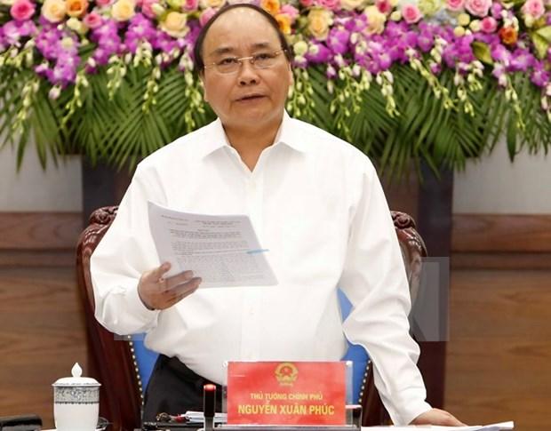 Premier vietnamita exhorta a unidad y firmeza en la defensa de soberania maritima hinh anh 1