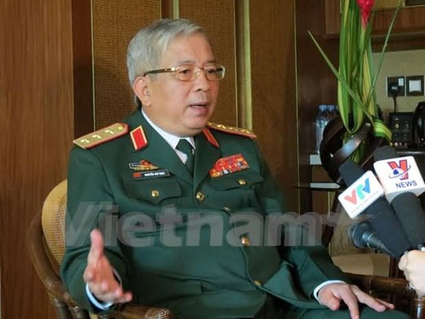 Vietnam estrecha cooperacion militar con EE.UU. y Tailandia hinh anh 1