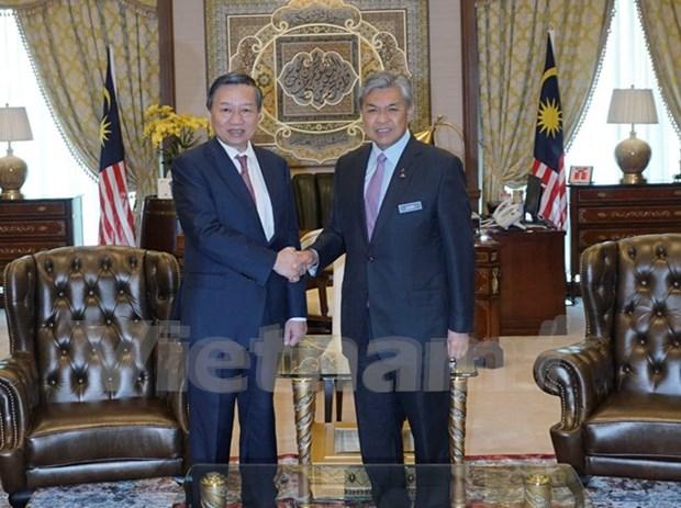 Vietnam y Malasia refuerzan cooperacion contra delincuencia hinh anh 1