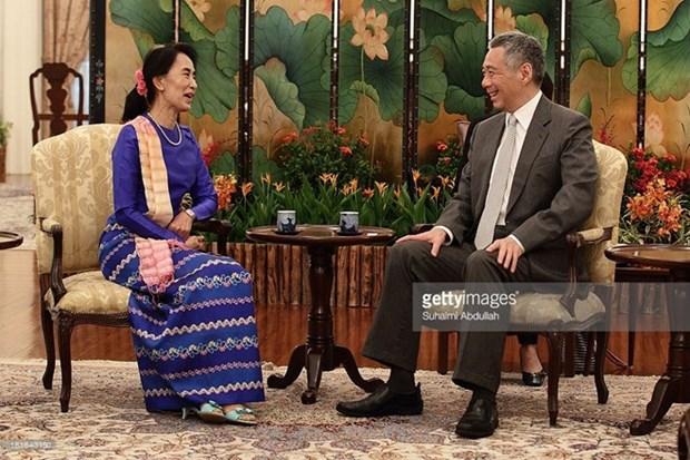 Singapur propone portavoz de la ASEAN hinh anh 1