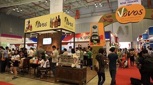 En Ciudad Ho Chi Minh Feria internacional de Cafe y Postres hinh anh 1
