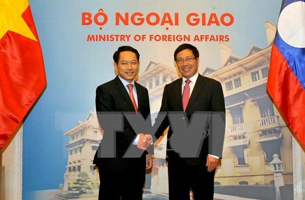 Vietnam y Laos fortalecen relaciones de solidaridad especial hinh anh 1
