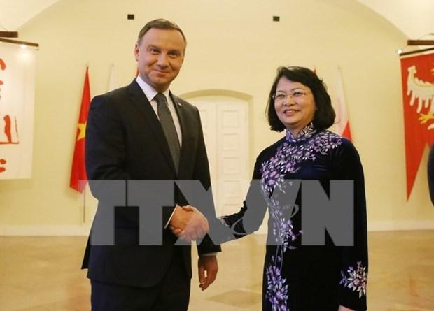 Presidente polaco afirma importancia de nexos tradicionales con Vietnam hinh anh 1