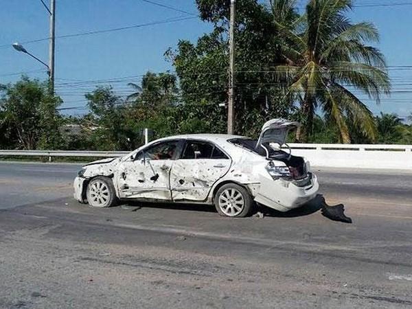 Al menos nueve personas heridas por explosion de bomba en el sur de Tailandia hinh anh 1