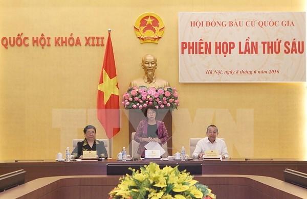 Asamblea Nacional de Vietnam de XIV legislatura se integrara por 496 diputados hinh anh 1