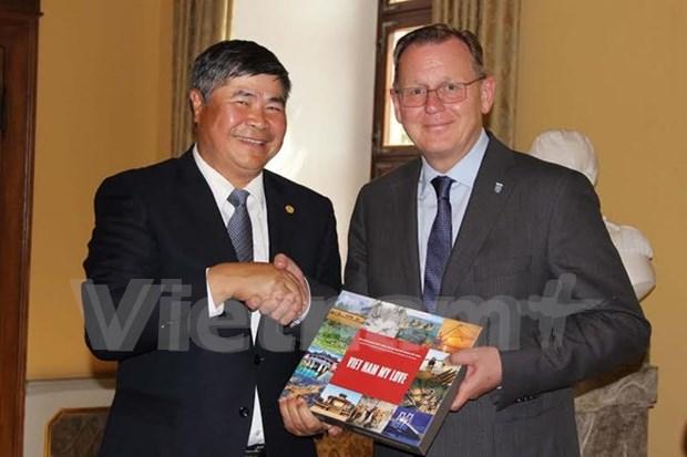 Vietnam desea reforzar cooperacion multifacetica con Alemania, afirma embajador hinh anh 1