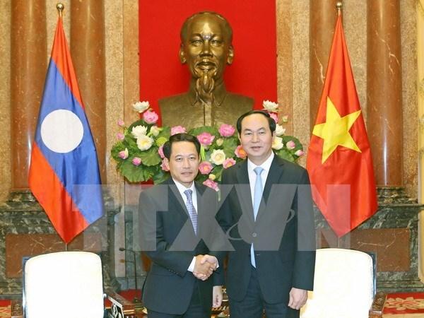 Promueven relaciones de amistad tradicional con Laos y Camboya hinh anh 1