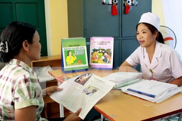 Lucha contra VIH: una de las primeras prioridades de Vietnam, afirmo vicepremier hinh anh 1