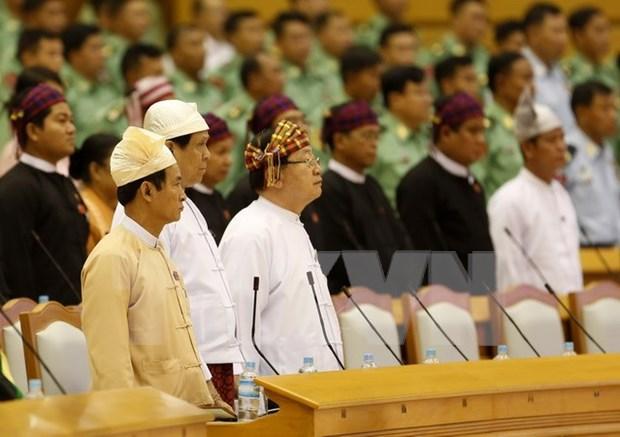 Clausuran primera sesion del nuevo parlamento de Myanmar hinh anh 1
