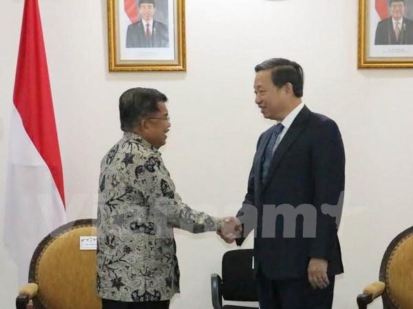 Vietnam e Indonesia acuerdan fomentar sus nexos bilaterales hinh anh 1