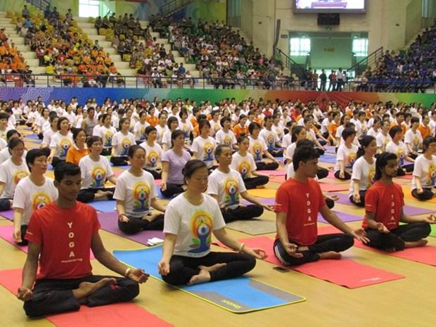 Vietnam acogera el Segundo Dia Internacional del Yoga hinh anh 1