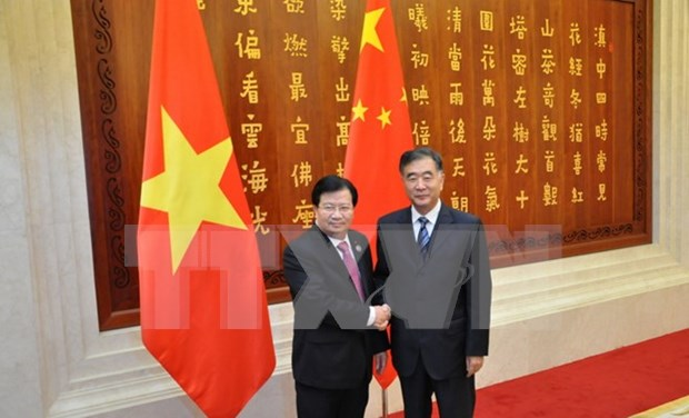 Aboga Vietnam por impulsar intercambio comercial con China hinh anh 1