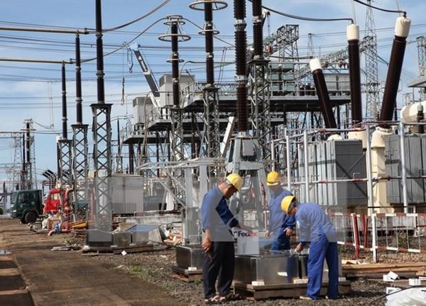 Transformadores de 500 kV de Pleiku 2 listos para recibir energia de Laos hinh anh 1