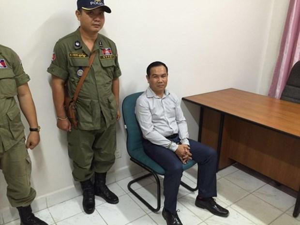 Cambodia: Tribunal impone siete anos de prision a tres miembros de CNRP hinh anh 1