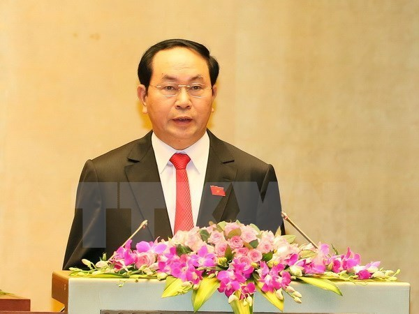 Prensa camboyana: Visita del presidente vietnamita impulsara nexos tradicionales hinh anh 1