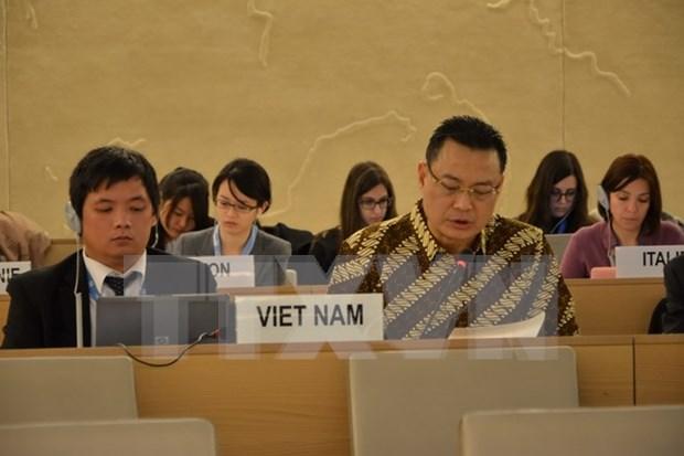Confirman compromisos y contribuciones ASEAN al Consejo de Derechos Humanos hinh anh 1
