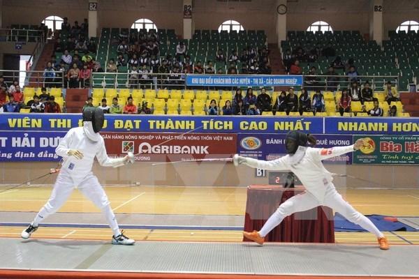 Esgrimista vietnamita clasifica a los Juegos Olimpicos Rio 2016 hinh anh 1