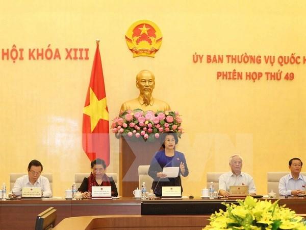 Parlamento de Vietnam revisa cuestiones relacionadas con los tribunales hinh anh 1