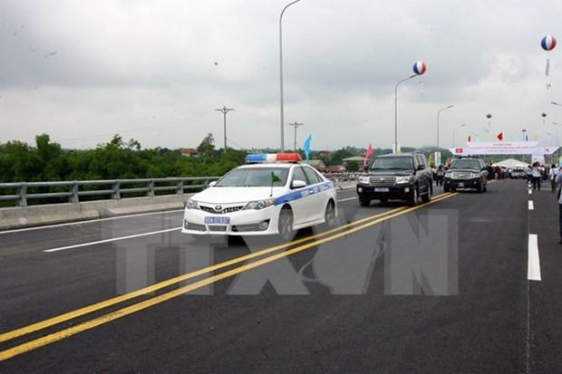 Sudcorea apoya el desarrollo del transporte de Vietnam hinh anh 1