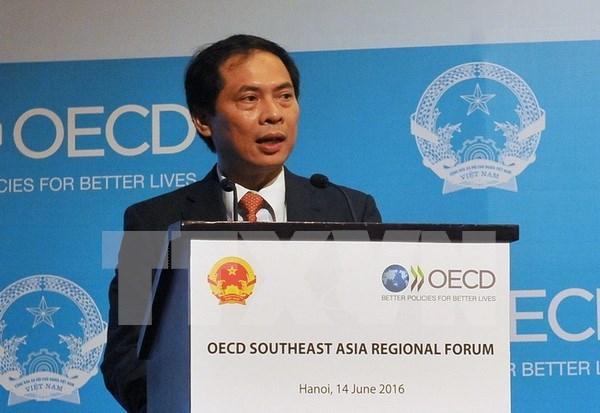 Acoge Vietnam foro de OCDE sobre desarrollo inclusivo en Sudeste Asiatico hinh anh 1