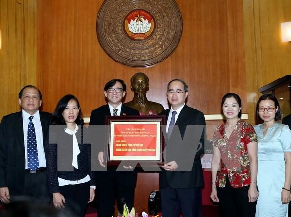 Tailandia dona 100 mil dolares a zonas afectadas por sequia en Vietnam hinh anh 1