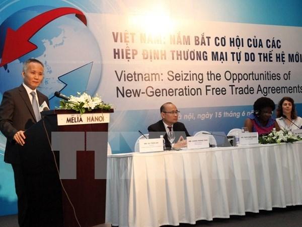 Banco Mundial apoya Vietnam en aprovechar oportunidades de tratados comerciales hinh anh 1