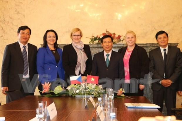 Vietnam y Republica Checa intensifican cooperacion cultural hinh anh 1
