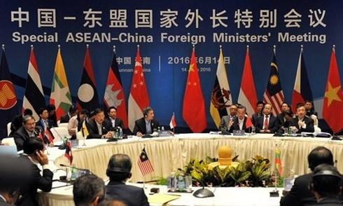Paises de ASEAN alcanzan consenso sobre comunicado de prensa conjunto hinh anh 1