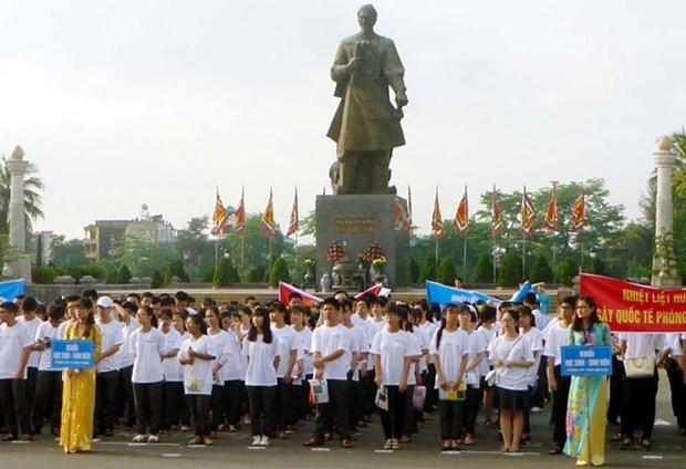 Saludan en Vietnam Dia Internacional contra la Droga hinh anh 1