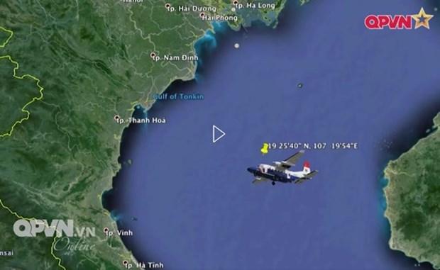 Vietnam esforzado por rastrear avion militar y piloto desaparecidos en el mar hinh anh 2