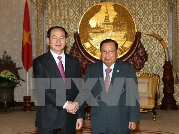 Destacan significado de visita de presidente vietnamita a Laos y Camboya hinh anh 1