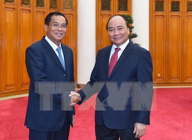 Ratifica Vietnam apoyo a Laos en su causa del desarrollo nacional hinh anh 1