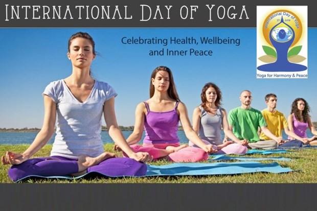 Vietnam responde al Dia internacional de Yoga hinh anh 1