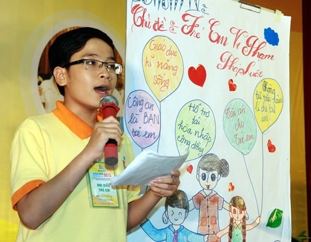 Foro de los Ninos de ASEAN iniciara manana en Hanoi hinh anh 1