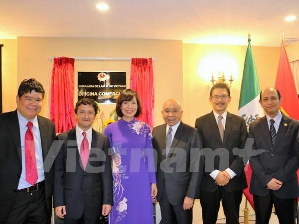 Oficina comercial de Vietnam abre sede en Mexico hinh anh 1