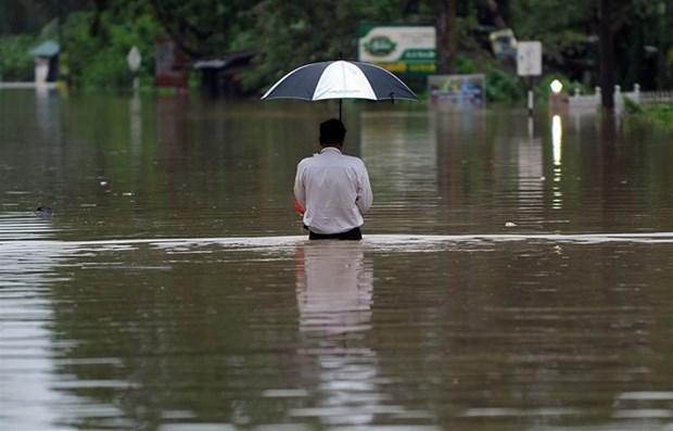 Al menos 43 muertos por inundacion y deslizamiento de tierra en Indonesia hinh anh 1