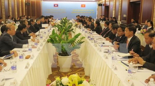 Vietnam y Laos revisan cooperacion en gestion de la frontera comun hinh anh 1