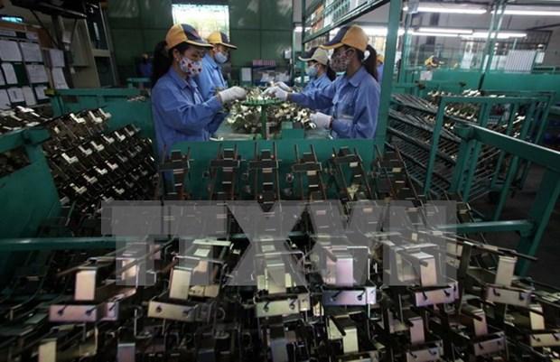 En alza exportacion vietnamita de productos electronicos hinh anh 1