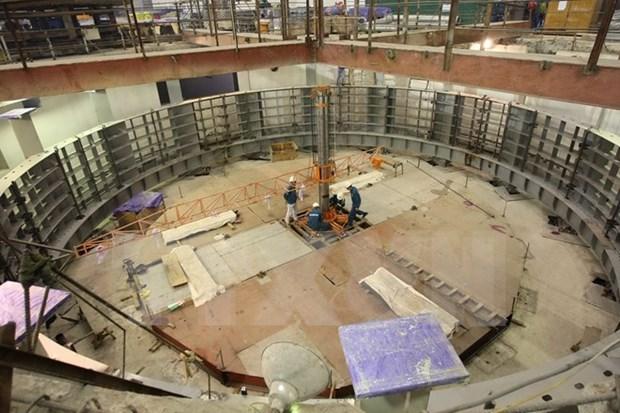 Segundo generador de la hidroelectrica Lai Chau conecta al sistema nacional hinh anh 1
