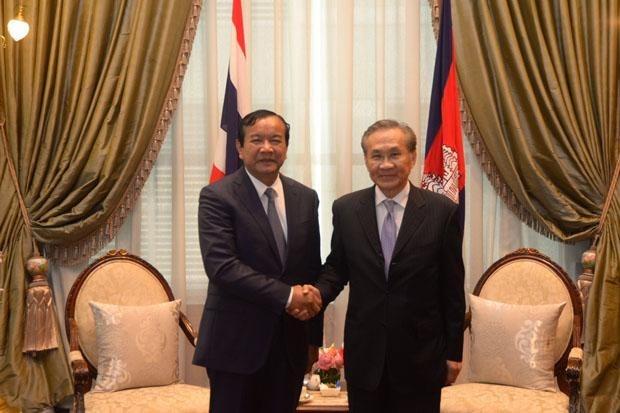 Tailandia y Camboya acuerdan mantener estrecha cooperacion hinh anh 1