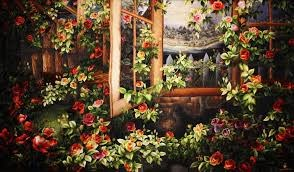 Galeria de pinturas bordadas impresiona a visitantes a Da Lat hinh anh 1