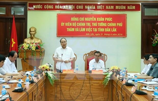 Primer ministro vietnamita continua gira de trabajo por provincia altiplana hinh anh 1