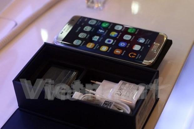 Triplican cantidad de suministradores vietnamitas en cadena global de Samsung hinh anh 1