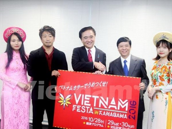 Festival Cultural de Vietnam en la prefectura japonesa de Kanagawa hinh anh 1
